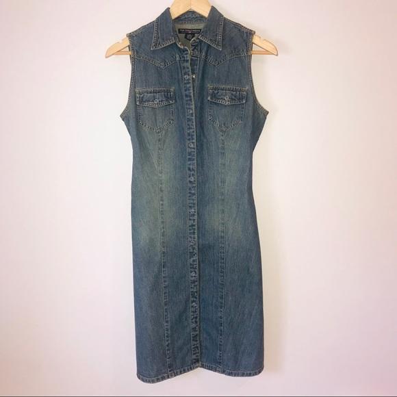 7feef9e2228 Denim midi dress. M_5ca4f70229f0300215e92e8d. Other Dresses you may like.  NWT Polo Ralph Lauren ...